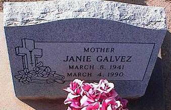 GALVEZ, JANIE - Pinal County, Arizona | JANIE GALVEZ - Arizona Gravestone Photos