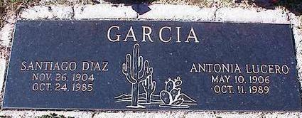 GARCIA, ANTONIA LUCERO - Pinal County, Arizona | ANTONIA LUCERO GARCIA - Arizona Gravestone Photos