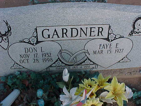 GARDNER, FAYE E. - Pinal County, Arizona | FAYE E. GARDNER - Arizona Gravestone Photos