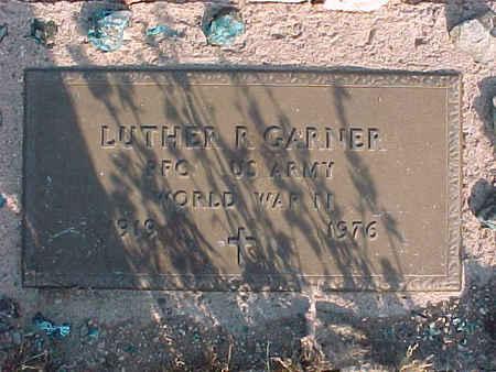 GARNER, LUTHER R. - Pinal County, Arizona   LUTHER R. GARNER - Arizona Gravestone Photos