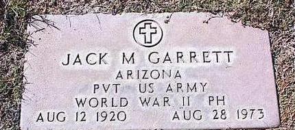 GARRETT, JACK M. - Pinal County, Arizona | JACK M. GARRETT - Arizona Gravestone Photos