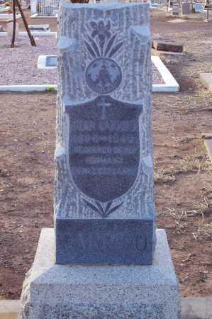GARRIDO, JUAN - Pinal County, Arizona | JUAN GARRIDO - Arizona Gravestone Photos