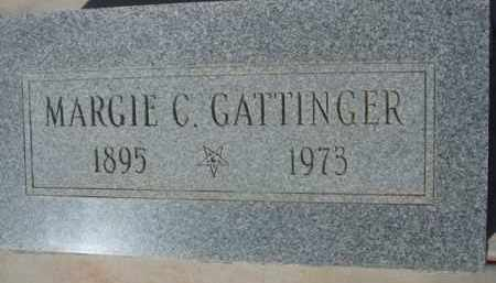 GATTINGER, MARGIE C. - Pinal County, Arizona | MARGIE C. GATTINGER - Arizona Gravestone Photos