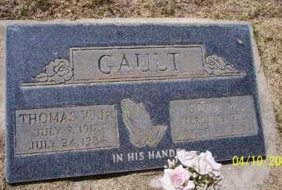GAULT, SOPIA M - Pinal County, Arizona | SOPIA M GAULT - Arizona Gravestone Photos