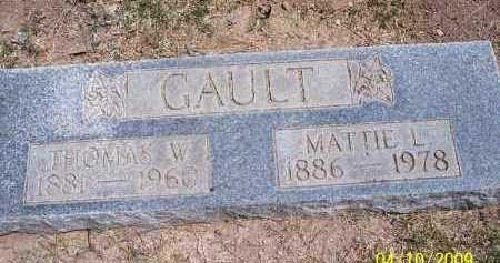 GAULT, MATTIE LOUISA - Pinal County, Arizona | MATTIE LOUISA GAULT - Arizona Gravestone Photos