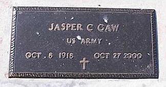 GAW, JASPER C. - Pinal County, Arizona | JASPER C. GAW - Arizona Gravestone Photos