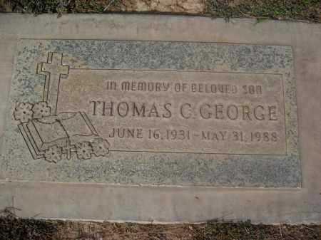 GEORGE, THOMAS C. - Pinal County, Arizona   THOMAS C. GEORGE - Arizona Gravestone Photos