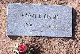 GIAIMO, NAOMIE E. - Pinal County, Arizona | NAOMIE E. GIAIMO - Arizona Gravestone Photos