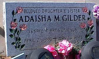GILDER, ADAISHA M. - Pinal County, Arizona | ADAISHA M. GILDER - Arizona Gravestone Photos