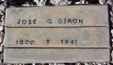 GIRON, JOSE Q. - Pinal County, Arizona   JOSE Q. GIRON - Arizona Gravestone Photos