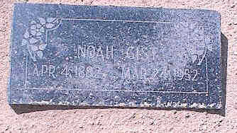 GIST, NOAH - Pinal County, Arizona | NOAH GIST - Arizona Gravestone Photos
