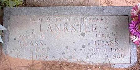 GLASS, ANGEL M. LANKSTER - Pinal County, Arizona | ANGEL M. LANKSTER GLASS - Arizona Gravestone Photos