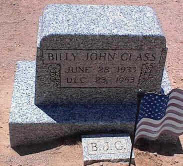 GLASS, BILLY JOHN - Pinal County, Arizona | BILLY JOHN GLASS - Arizona Gravestone Photos