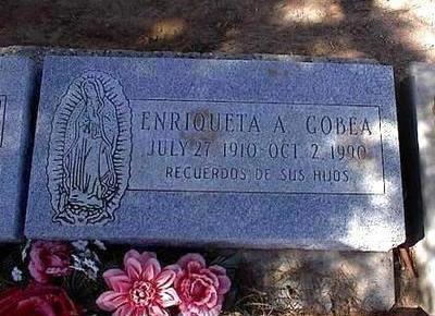 GOBEA, ENRIQUETA A. - Pinal County, Arizona | ENRIQUETA A. GOBEA - Arizona Gravestone Photos