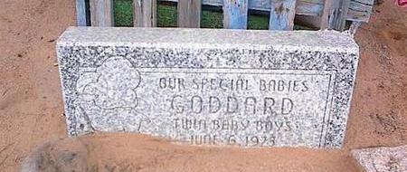 GODDARD, TWIN BOYS - Pinal County, Arizona | TWIN BOYS GODDARD - Arizona Gravestone Photos