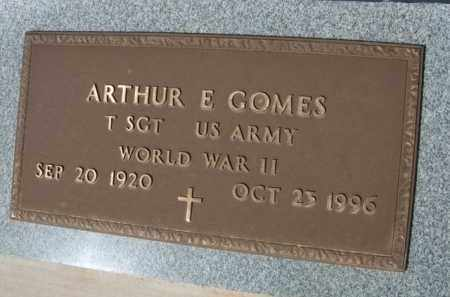 GOMES, ARTHUR E. - Pinal County, Arizona | ARTHUR E. GOMES - Arizona Gravestone Photos