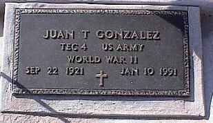 GONZALES, JUAN T. - Pinal County, Arizona   JUAN T. GONZALES - Arizona Gravestone Photos
