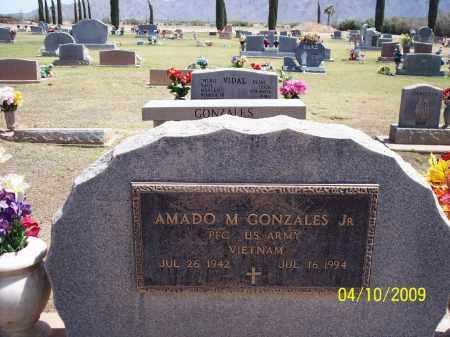 GONZALES, AMADO, JR. - Pinal County, Arizona | AMADO, JR. GONZALES - Arizona Gravestone Photos