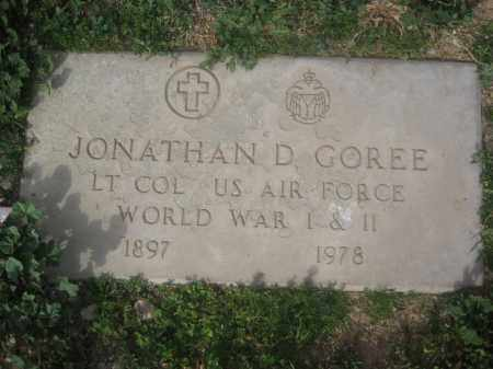 GOREE, JONATHAN D. - Pinal County, Arizona | JONATHAN D. GOREE - Arizona Gravestone Photos