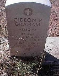 GRAHAM, GIDEON P. - Pinal County, Arizona | GIDEON P. GRAHAM - Arizona Gravestone Photos