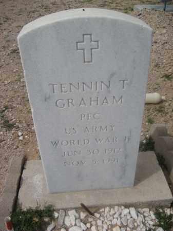 GRAHAM, TENNIN T. - Pinal County, Arizona   TENNIN T. GRAHAM - Arizona Gravestone Photos