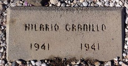 GRANILLO, HILARIO - Pinal County, Arizona | HILARIO GRANILLO - Arizona Gravestone Photos