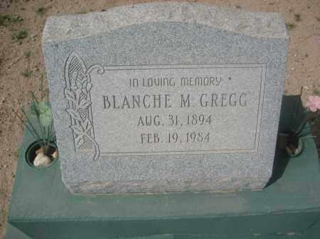 GREGG, BLANCHE M. - Pinal County, Arizona   BLANCHE M. GREGG - Arizona Gravestone Photos