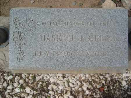 GREGG, HASKELL L. - Pinal County, Arizona | HASKELL L. GREGG - Arizona Gravestone Photos