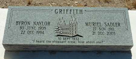 GRIFFITH, FRANCES MURIEL - Pinal County, Arizona   FRANCES MURIEL GRIFFITH - Arizona Gravestone Photos