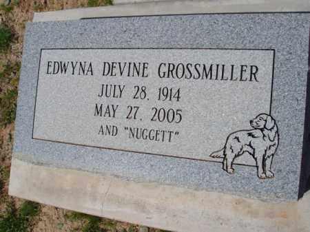 DEVINE GROSSMILLER, EDWYNA - Pinal County, Arizona | EDWYNA DEVINE GROSSMILLER - Arizona Gravestone Photos