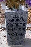 GRUBBS, MELLIE - Pinal County, Arizona | MELLIE GRUBBS - Arizona Gravestone Photos