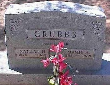 GRUBBS, MAMIE A. - Pinal County, Arizona | MAMIE A. GRUBBS - Arizona Gravestone Photos
