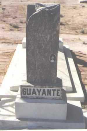 GUAYANTE, DELOROS - Pinal County, Arizona | DELOROS GUAYANTE - Arizona Gravestone Photos