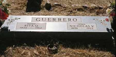 GUERRERO, NICHOLAS V. - Pinal County, Arizona | NICHOLAS V. GUERRERO - Arizona Gravestone Photos