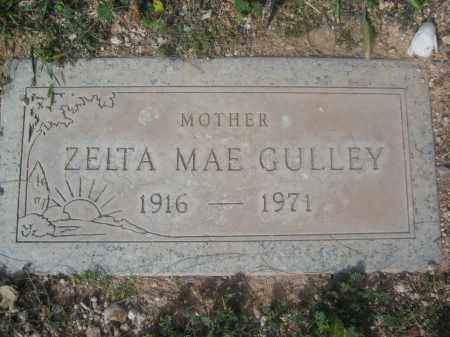 GULLEY, ZELTA MAE - Pinal County, Arizona   ZELTA MAE GULLEY - Arizona Gravestone Photos