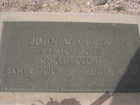 GUNGL, JOHN W. - Pinal County, Arizona | JOHN W. GUNGL - Arizona Gravestone Photos