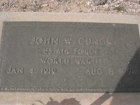 GUNGL, JOHN W. - Pinal County, Arizona   JOHN W. GUNGL - Arizona Gravestone Photos