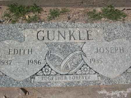 GUNKLE, EDITH - Pinal County, Arizona | EDITH GUNKLE - Arizona Gravestone Photos