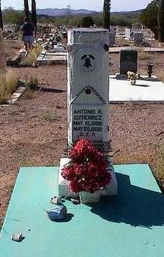 GUTERREZ, ANTONIO R. - Pinal County, Arizona | ANTONIO R. GUTERREZ - Arizona Gravestone Photos