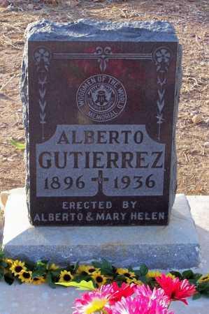 GUTIERREZ, ALBERTO - Pinal County, Arizona | ALBERTO GUTIERREZ - Arizona Gravestone Photos