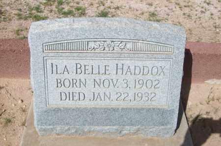 HADDOX, ILA BELLE - Pinal County, Arizona   ILA BELLE HADDOX - Arizona Gravestone Photos
