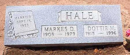 HALE, DOTTIE V. - Pinal County, Arizona | DOTTIE V. HALE - Arizona Gravestone Photos