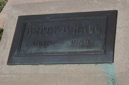 HALL, BETTY B. - Pinal County, Arizona | BETTY B. HALL - Arizona Gravestone Photos