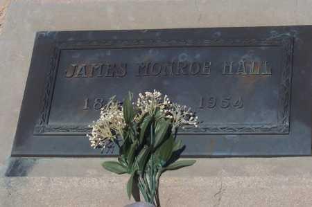 HALL, JAMES MONROE - Pinal County, Arizona | JAMES MONROE HALL - Arizona Gravestone Photos