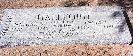 HALLFORD, EVELYN - Pinal County, Arizona | EVELYN HALLFORD - Arizona Gravestone Photos