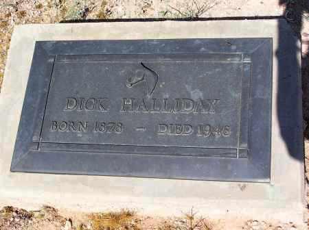 HALLIDAY, DICK - Pinal County, Arizona | DICK HALLIDAY - Arizona Gravestone Photos