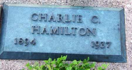HAMILTON, CHARLIE CEPHAS - Pinal County, Arizona   CHARLIE CEPHAS HAMILTON - Arizona Gravestone Photos