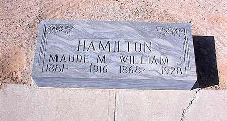 HAMILTON, WILLIAM JACKSON - Pinal County, Arizona | WILLIAM JACKSON HAMILTON - Arizona Gravestone Photos