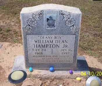 "HAMPTON, WILLIAM DEAN, JR.  ""DEANY BOY"" - Pinal County, Arizona 