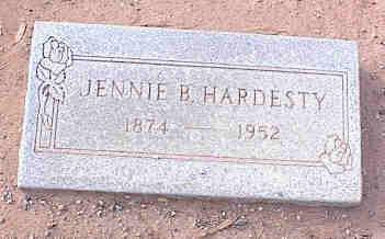 BARKER HARDESTY, JENNIE JUNE - Pinal County, Arizona   JENNIE JUNE BARKER HARDESTY - Arizona Gravestone Photos